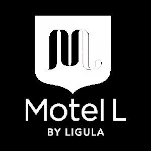 Motel L - White Logo
