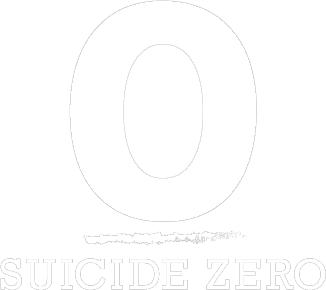 Suicide Zero White logo