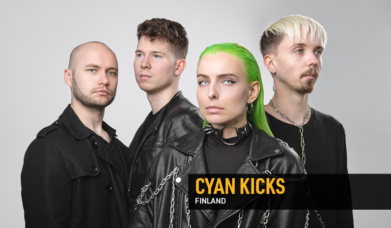 Cyan Kicks